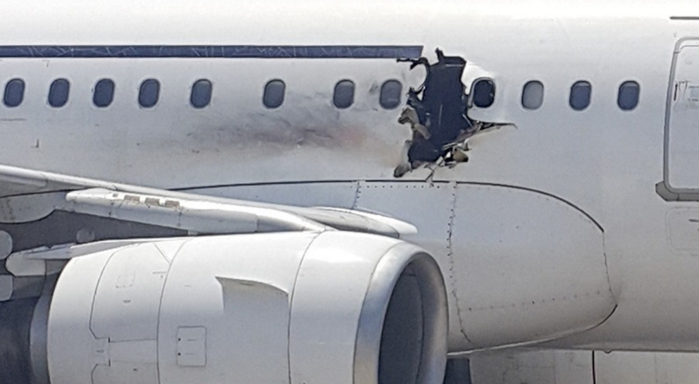 Airbus A320 plane crashes